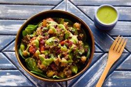 Italian Veggie Quinoa Salad