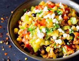 Whole Food's Southwest Lentil Salad